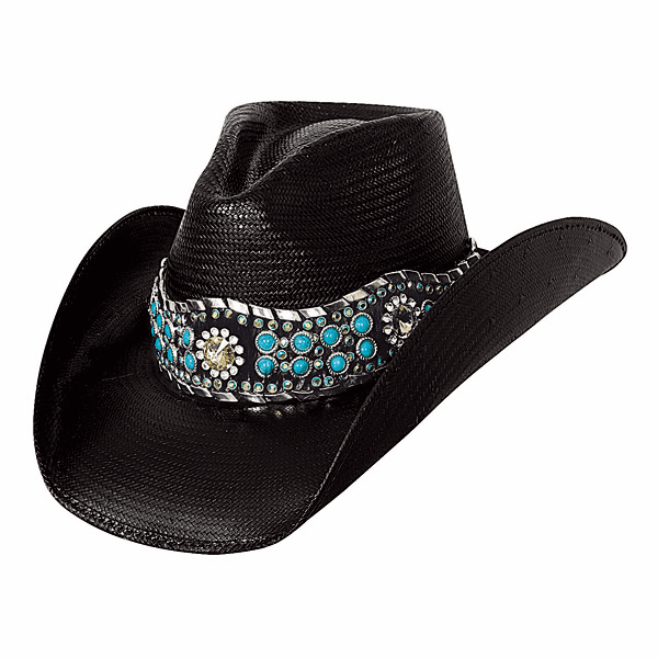 Own the Night - Shantung Panama Cowboy Hat