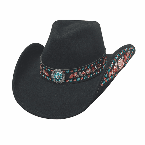 Peace of Mind Bullhide Hat Black