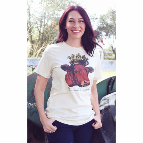 Queen of the Ranch Cowgirl Tee XS-4X