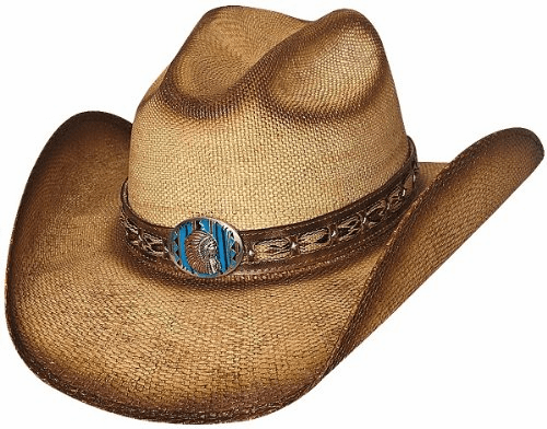Red Cloud Bullhide Hat Natural