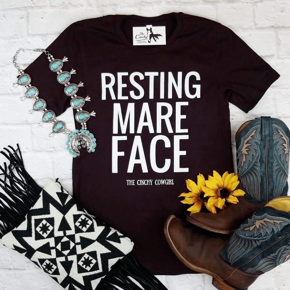 Resting Mare Face Tee