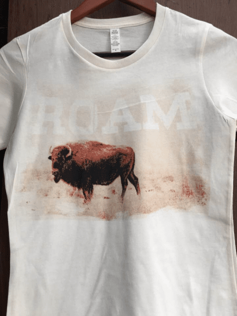 ROAM Buffalo Tee  Natural