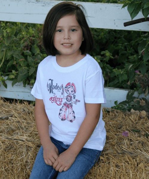 Rodeo  for Girls 1946 Tee  Youth
