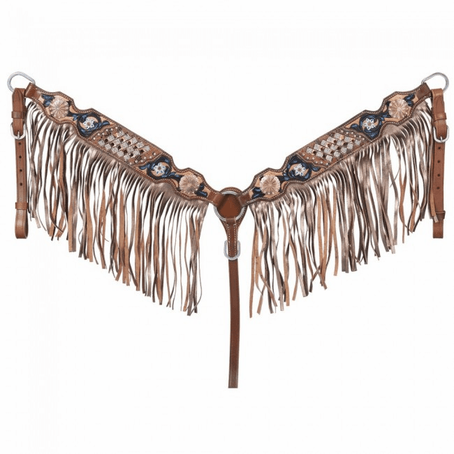 Savannah Collection Breastcollar w/Fringe