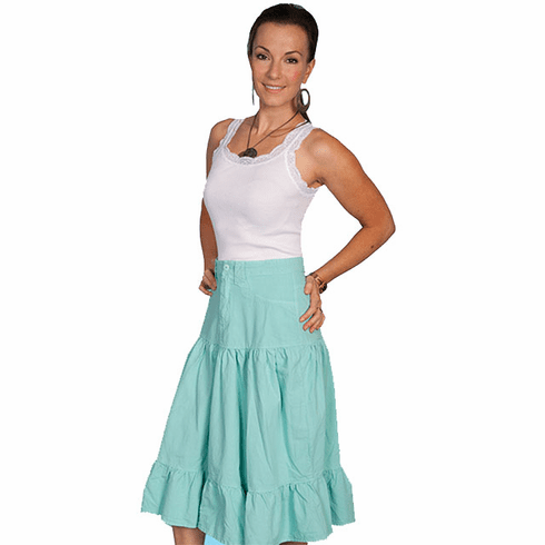 Scully 5 pocket Skirt Mint
