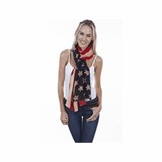 Scully American Flag Scarf/Wrap