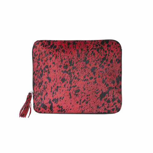 Scully Bombshell Cowgirl Tablet Case Animal Print Red