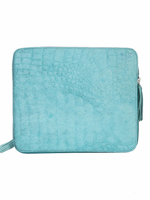 Scully Bombshell Cowgirl Tablet Case Blue