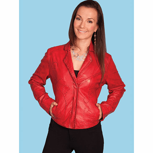 Scully Casa Grande Whip Stitch Jacket - Red