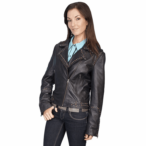 Scully Cave Creek Motorcycle Jacket Black