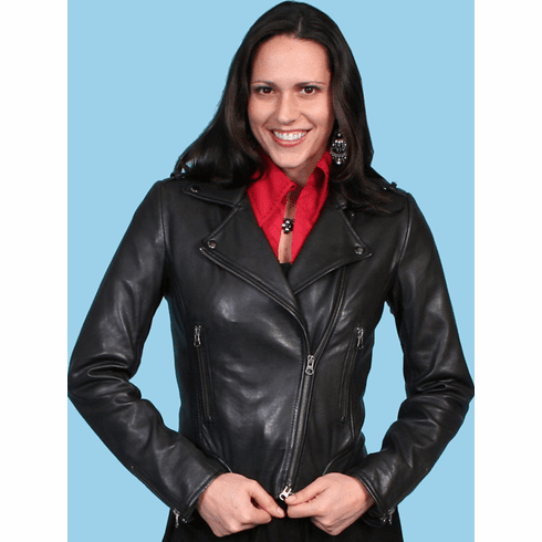 Scully Classic Leather Jacket Black