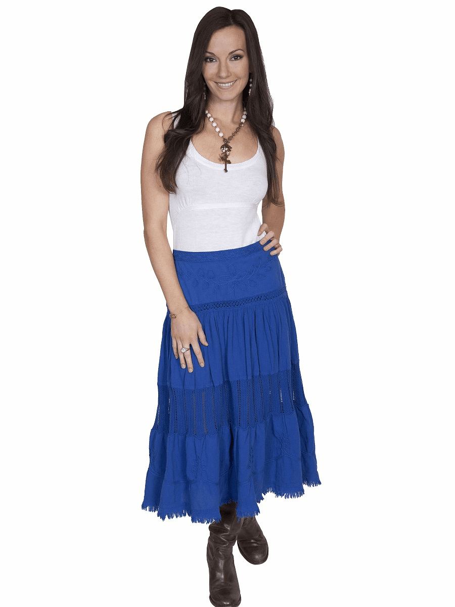 Scully Cowgirl Full Skirt