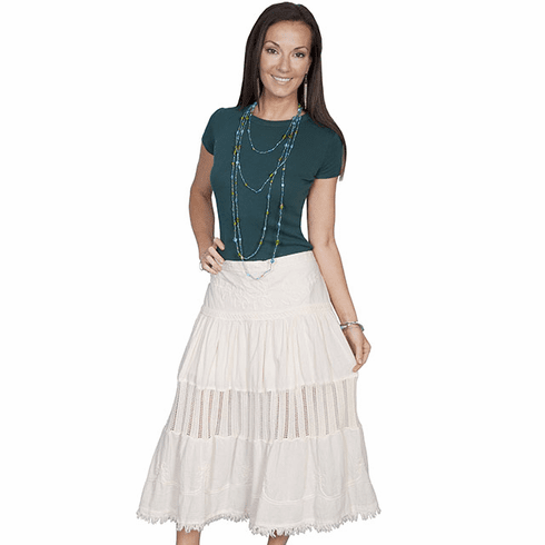 Scully Cowgirl Full Skirt Natural*