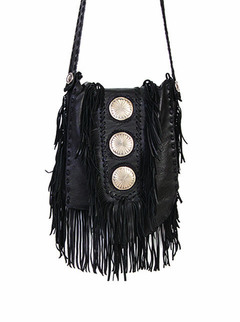 Scully Cowgirl Spirit Fringe Purse