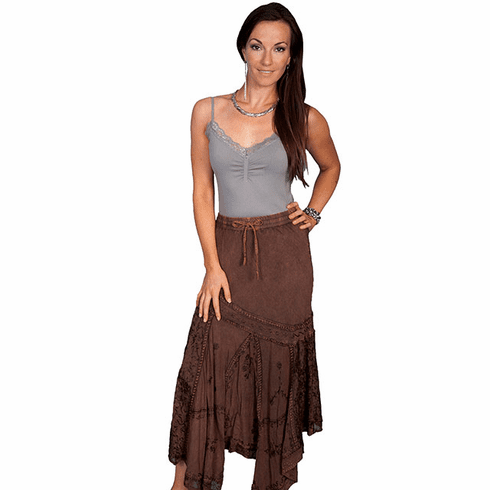 Scully Desert Air Skirt - Copper