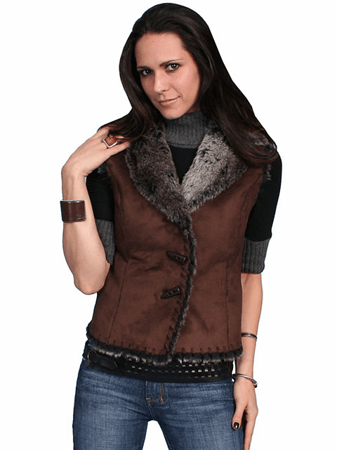 Scully Faux Shearing Vest
