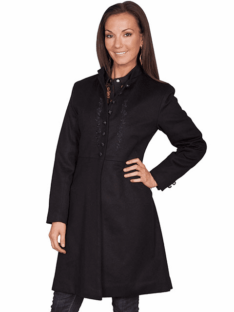 Scully Heritage Coat Black