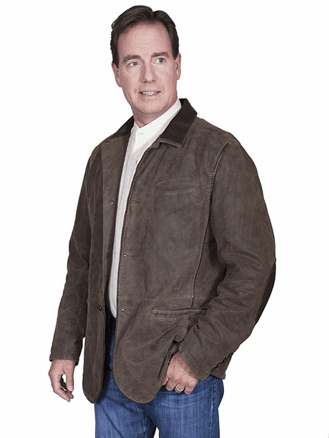 Scully Leather Blazer Brown