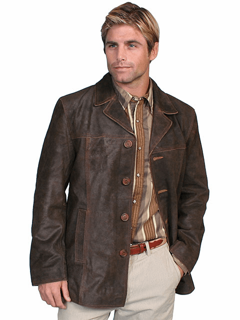 Scully Payson Leather Jacket