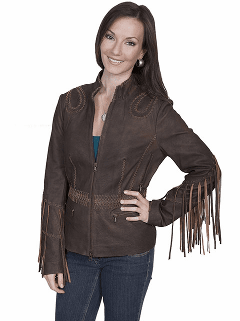 Scully Ranch Leather Fringe Jacket S-XXL