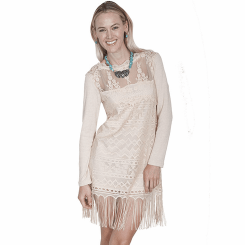 Scully Sophisticated lace dress Natural