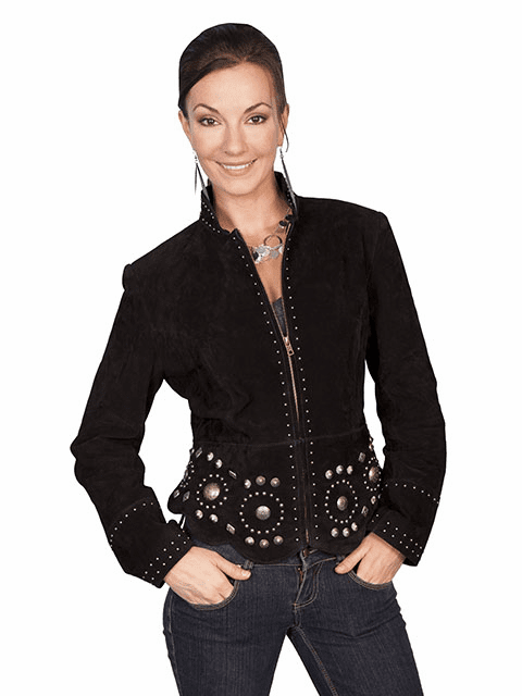 Scully Suede Concho Jacket S-XXL