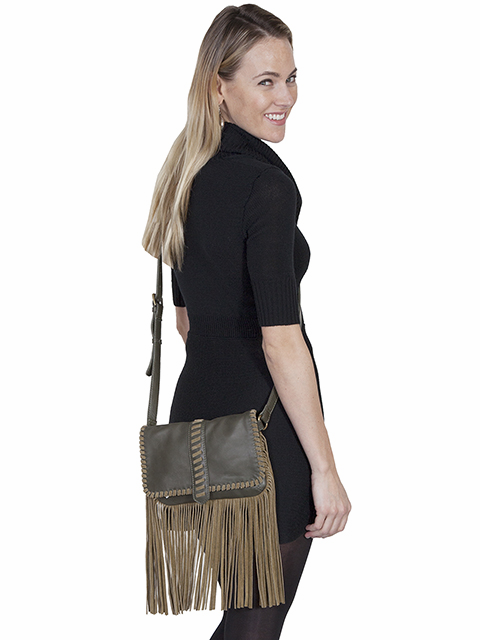 Scully Suede Fringe Purse