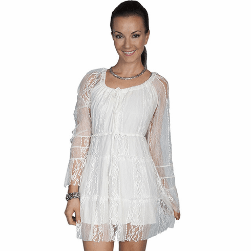 Scully Summer Love Lace Dress Ivory
