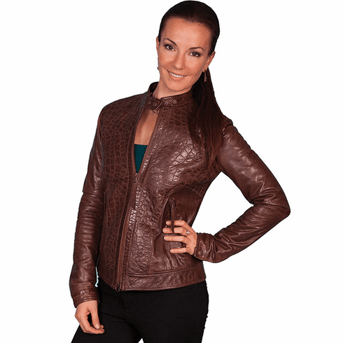 Scully Wild Side Western Leather Jacket