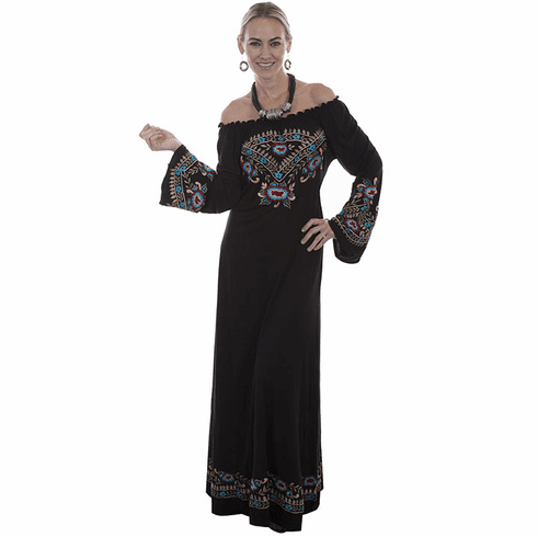 Scully Women's Vibrant Embroidered Dress