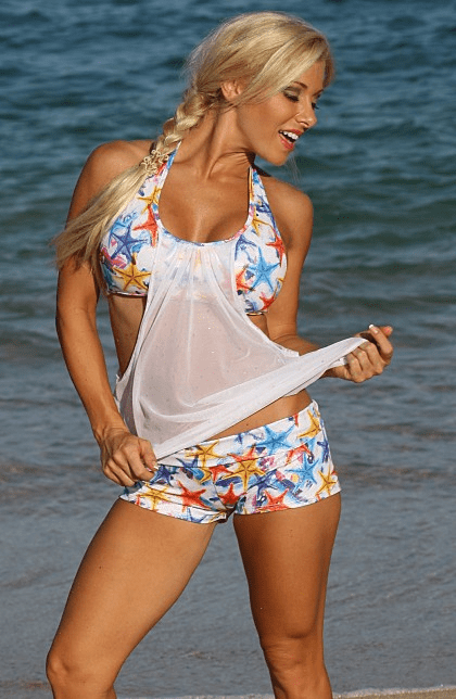 Sea Star Sport Tankini Set (Reg/Plus Size)