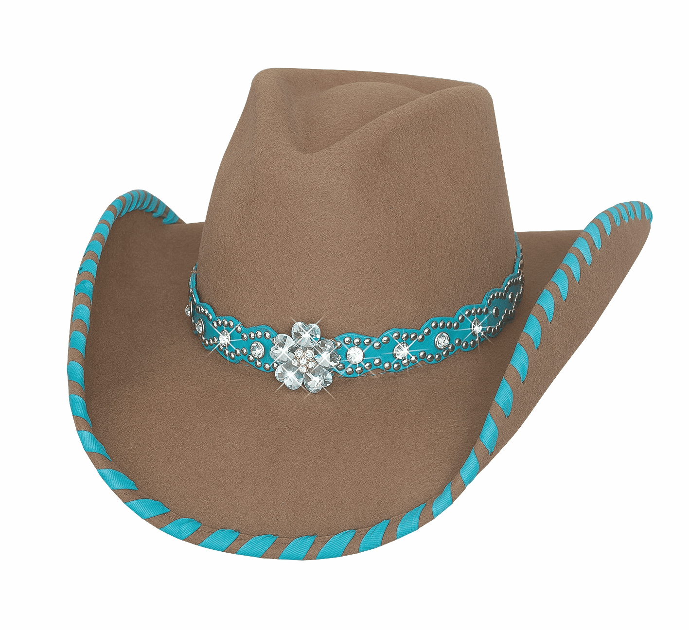 SEE YOU AGAIN Cowgirl Hat Sand