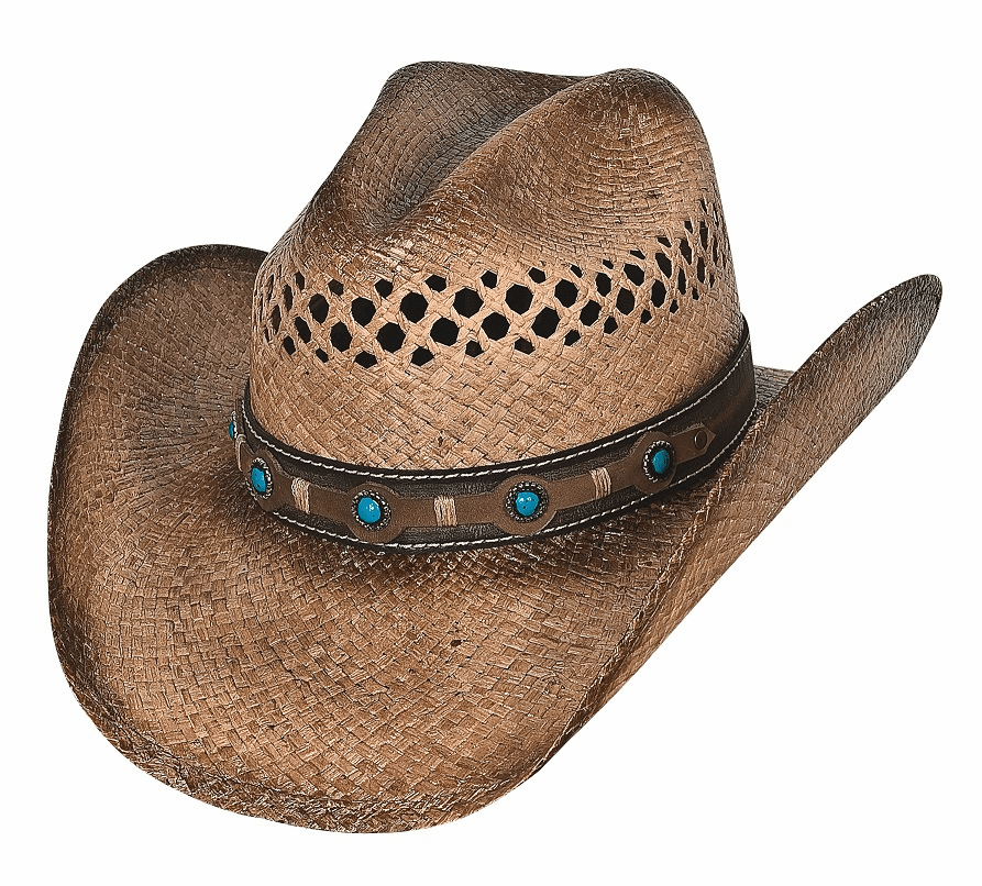 Spotlight  Raffia Straw Cowboy Hat