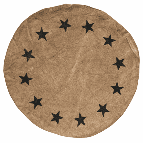 Star Table Mat - 9""