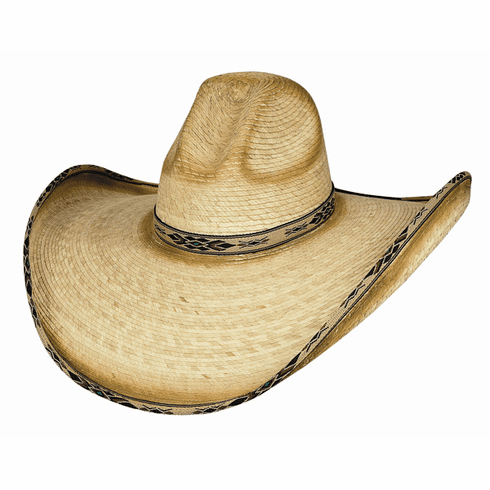 Summerhaven - (15X) Palm Straw Cowboy Hat