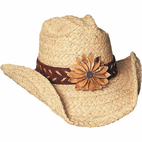 Sunset Straw Hat - Natural