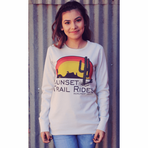 Sunset Trail Rides Western Thermal Unisex