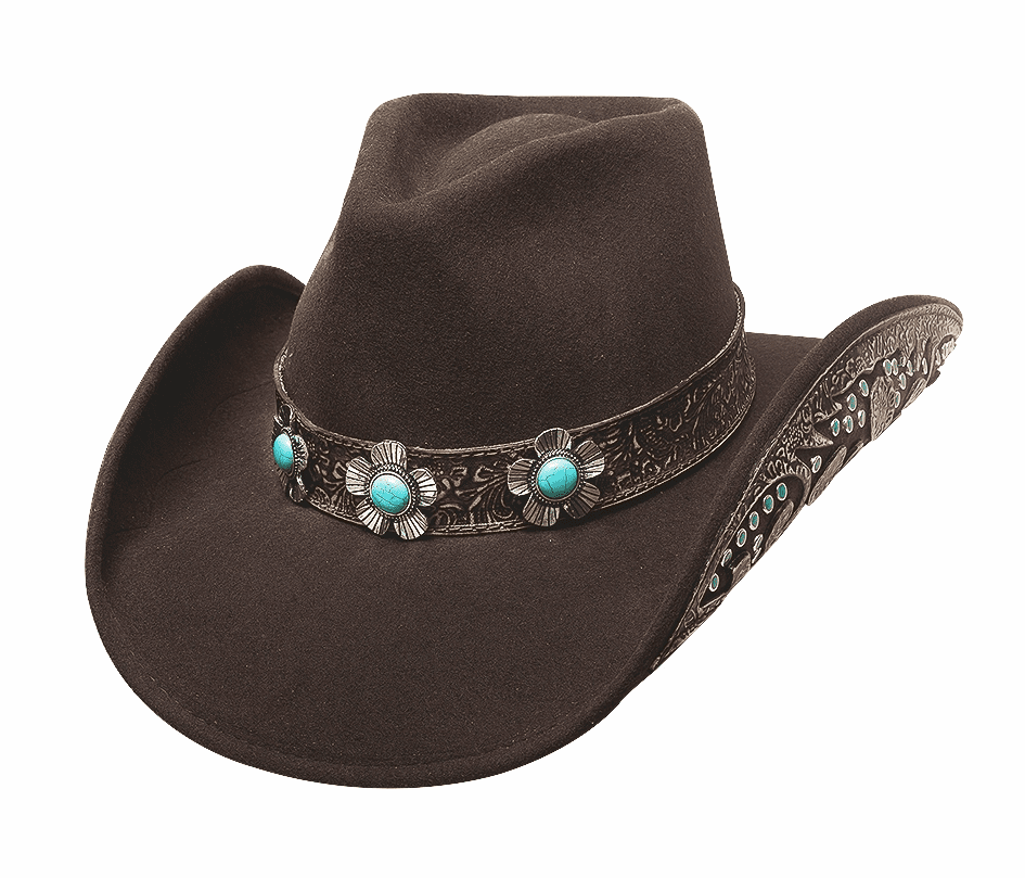Sweet Emotion Bullhide Hat Brown