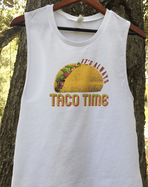 Taco Time Muscle Tank TJ-2057