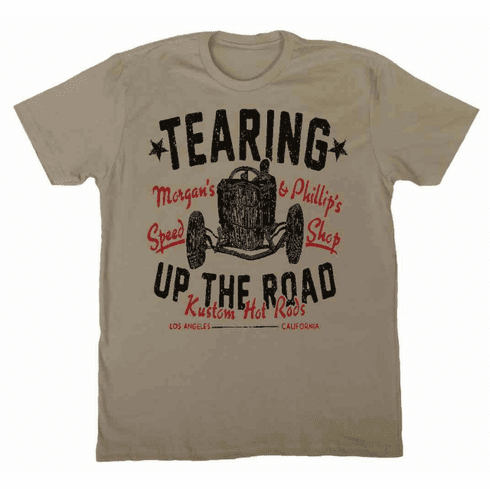 Tearing Up the Road  Premium Heather Grey