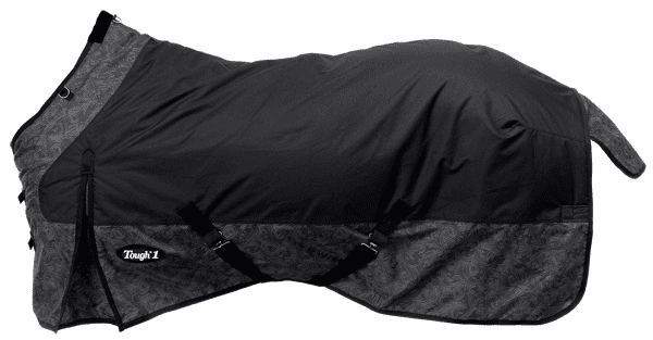 Tough-1 600D Ripstop Poly Waterproof Horse Sheet in Tooled Leather Print - 34-7125T-752-69