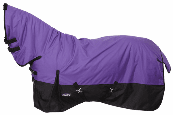 Tough-1 600D Waterproof Poly Full Neck Turnout Blanket - 32-2010FN-10-69