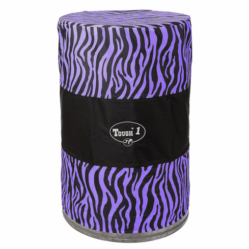 Tough-1 Barrel Cover Set in 600D Nylon in Prints Purple