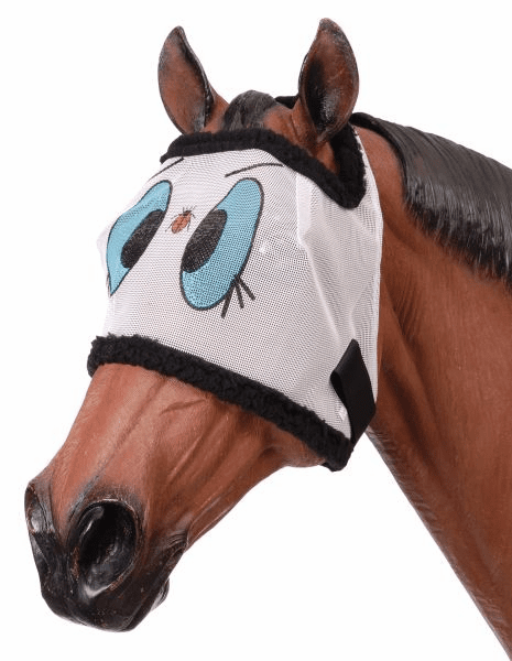 Tough-1 Novelty Ladybug Mesh Fly Mask - Lady Bug