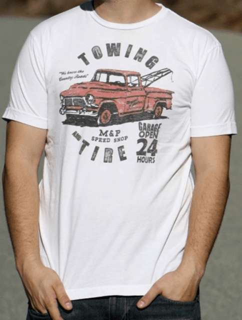 Towing and Tire Men's  Basic Sizes: Small- 3XL
