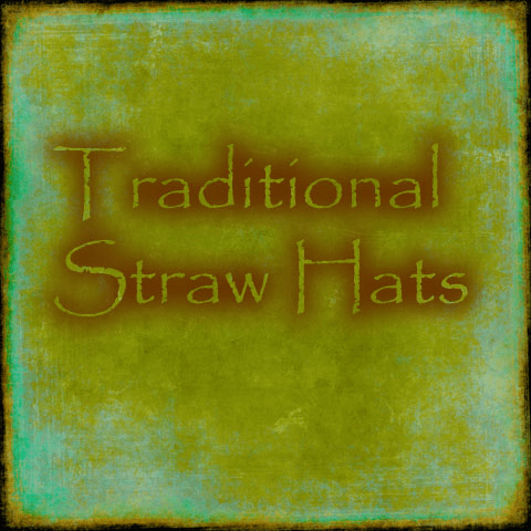 Traditional Straw Hats