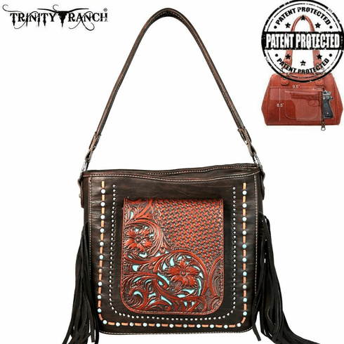 Trinity Ranch Tooled Collection Concealed Handgun Collection Hobo
