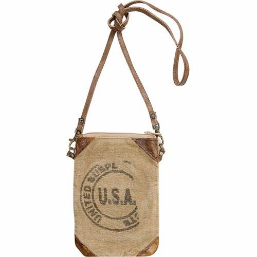USA Stamped Crossbody Bag