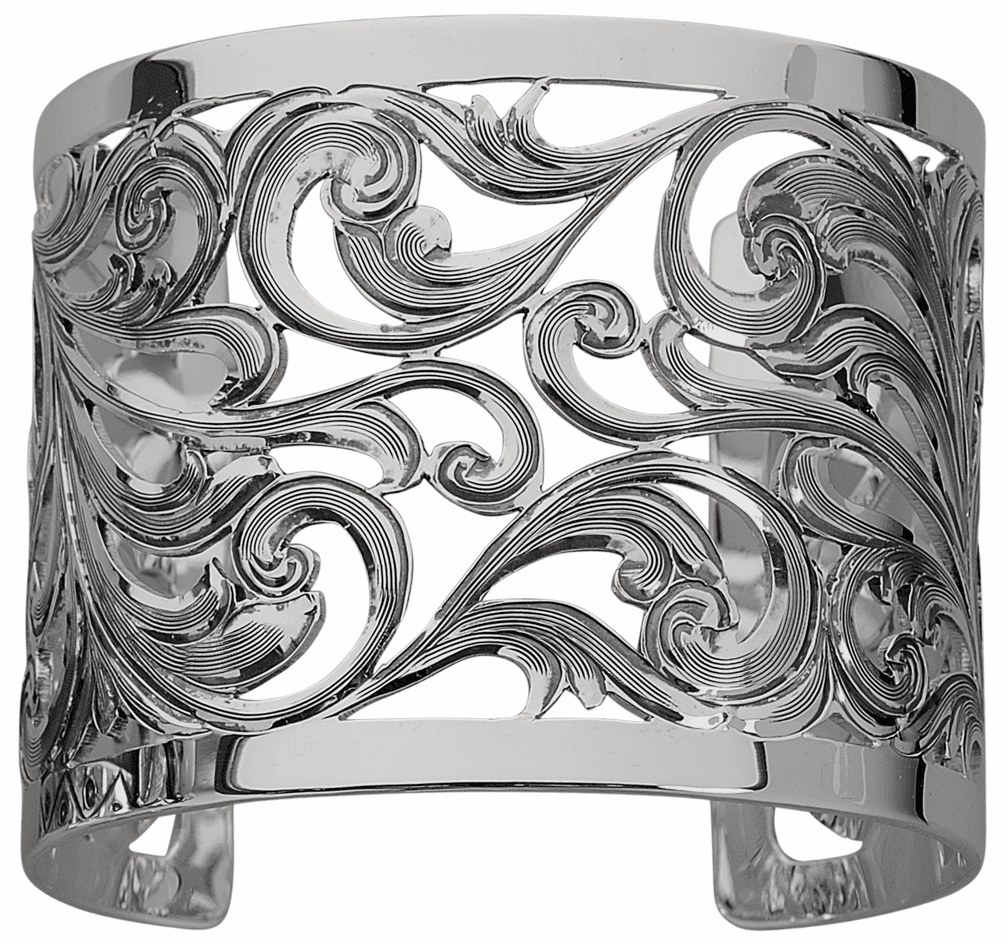 Vogt Sterling Filigree Cuff