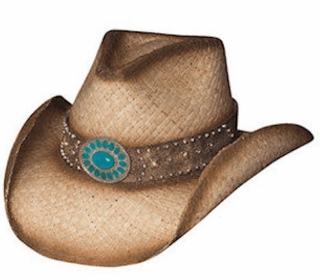 Western Shadows Straw Hat